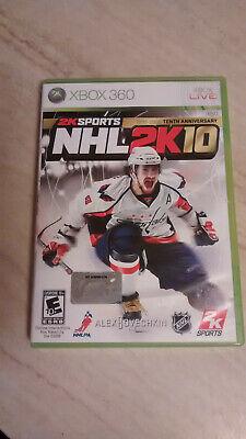 NHL 2K10 Xbox 360 Complete