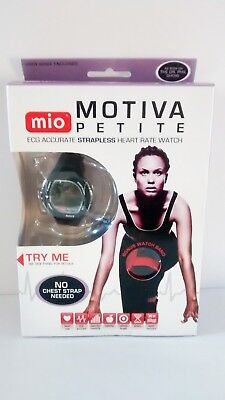 MIO Motiva ECG Accurate Strapless Heart Rate Monitor w/ Extra Watch Band NEW