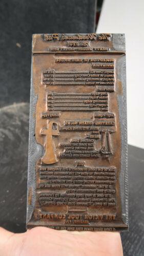 Victor Tool Company Woodsman Pal Axe Knife Spec Printers Block