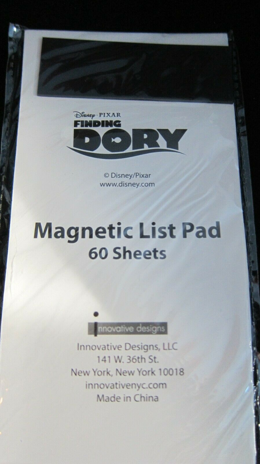 DISNEY FINDING DORY HANK 60 SHEET MAGNETIC LIST PAD BRAND NEW COLLECTIBLE EXCLUS - $6.99