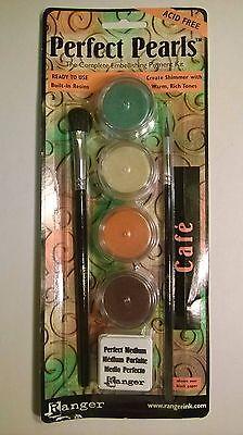 Perfect Pearls, The Complete Embellishing Pigment Kit, RANGER, 4 - Embellishing Pigments