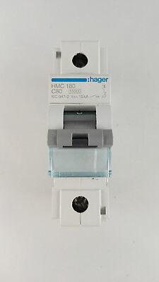 Hager HMC 180 C80 Leitungsschutzschalter LS Schalter 1polig 15 kA