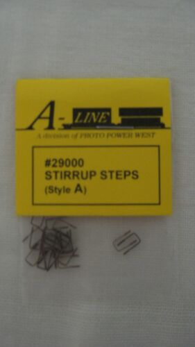 A-Line HO Scale Stirrup Steps (Style A) 25-Pack Part #29000