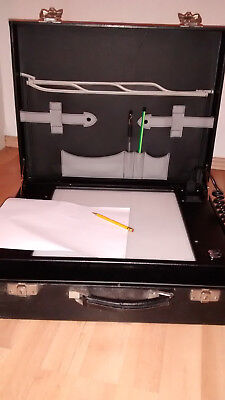Leuchtkoffer, tragbarer Leuchttisch im Koffer für Zeichner, ideal auf Reisen (Zeichner Tisch)