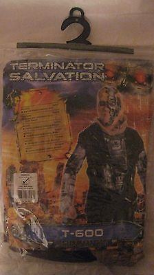 Halloween Costume Terminator Salvation T-600 For Kids 5 To 7 Size 8-10   NEW h17