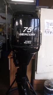 75 hp Mercury o/b motor .2010 Model
