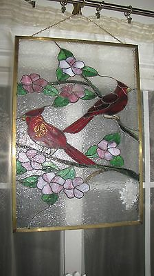 MnStained Glass Window Panel Suncatcher