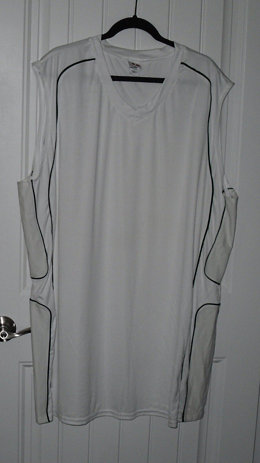 WHITE A4 MEN/'S REVERSIBLE MESH TANK GAME MUSCLE BASKETBALL JERSEY NEW