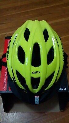 New Louis Garneau LeTour II Cycling Helmet Plus Extra Helmet Pads (Louis Garneau Visor)