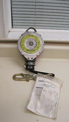 New Msa 506619 20ft Dyna-lock Self Retracting Lanyard 400lb Max Free Shipping