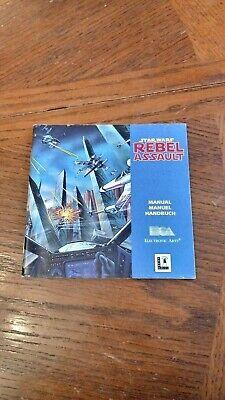 Panasonic 3DO CD Star Wars Rebel Assault Instruction Manual , usado comprar usado  Enviando para Brazil