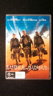 Three Kings dvd - George Clooney, Mark Wahlberg, Ice Cube Dulwich Hill Marrickville Area Preview