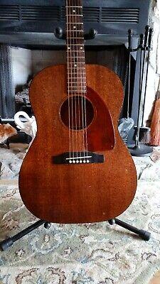 Gibson 1965 LG-0 Vintage Guitar Very Good Condition - Original Alligator Case