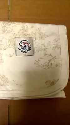 new babysense cot/crib blanket beige and white with free post comprar usado  Enviando para Brazil