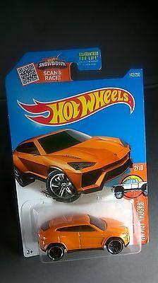 Hot Wheels Lamborghini Urus Hw Hot Trucks Diecast 1 64 Scale Orange  2 10 Rare