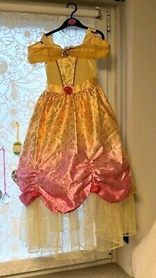 Prinzessin Kleid Gr. 128 Belle - Kostüm / Die Schöne und das (Belle Und Das Biest Kostüme)