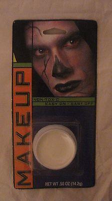 Halloween White Makeup Non-Toxic Easy On Easy Off Techni Faces .50 OZ    NEW h24 - Easy Halloween Makeup Faces