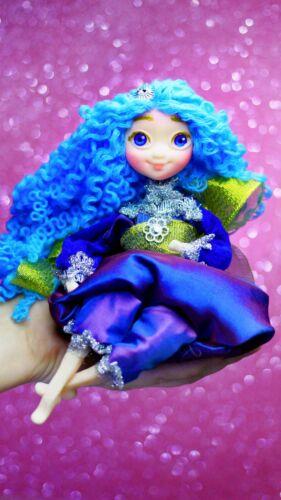 Waldorf doll Handmade Soft Kids toy Fairy Elf Sensory Little Girl gift Unique