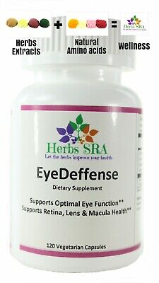 EyeDeffense 120 Capsules Better Vision, Nutrients for Your Eyes, Natural