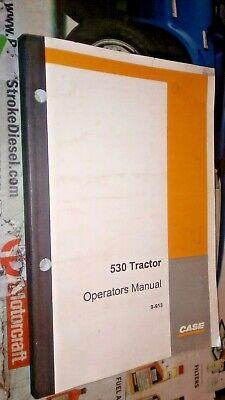 Case 530 Tractor Factory Operators Manual