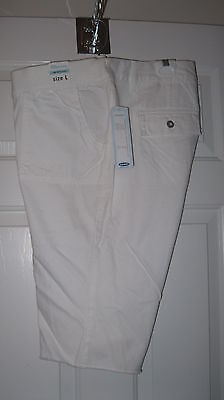 White Old Navy Maternity Shorts Size L