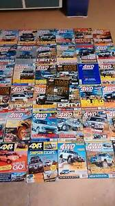 4WD monthly and other 4wd magazines Kingston Logan Area Preview