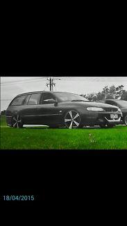 "1999 vt wagon clubby 20""inch cv8 SWAPS!!  Melbourne CBD Melbourne City Preview"