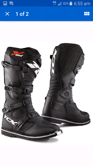 New Adult Motocross Boots TCX Blast leather Mx boots All sizes
