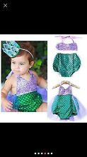 Mermaid costumes. Age 6 months to 6 years. Woodvale Joondalup Area Preview
