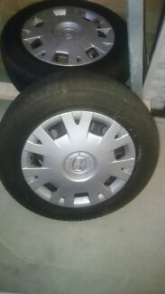 4 x 15 inch rims and tyres, suit mazda3 Coogee Cockburn Area Preview