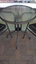Second Hand Cafe Round Table Frosted Glass Top Annerley Brisbane South West Preview