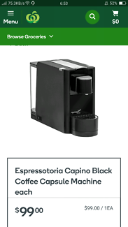 Coffee capsul
