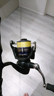 Shimano revolution 1-3kg with daiwa 2000 exceler