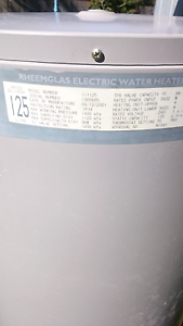 rheem 125 litre hot water system. rheem 125 litre electric hot water system
