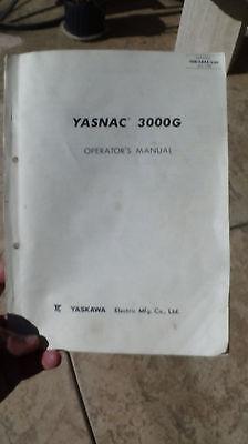 Cnc Programming And Operators Manual - Yaskawa Yasnac 3000g