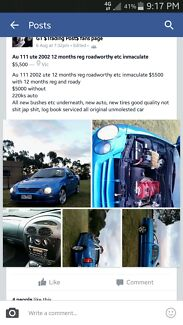 Au 111 2002 xr6 ute 12 months reg immaculate condition $5000 Traralgon Latrobe Valley Preview