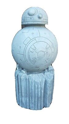 Star Wars Resin Garden Ornament BB-8 Brand New paintable