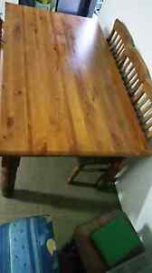 Table with 6 chairs Mount Lewis Bankstown Area Preview