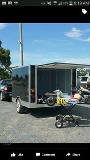 Go kart and trailer  Doveton Casey Area Preview