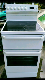 UPRIGHT FREESTANDING STOVE OVEN GRILL