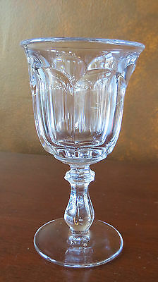 Imperial Old Williamsburg Crystal Clear Wine Goblet