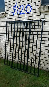 2× black metal bars/fence/gate Coolangatta Gold Coast South Preview