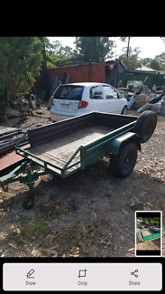 Box trailer 7x4. $150 Windsor Hawkesbury Area Preview