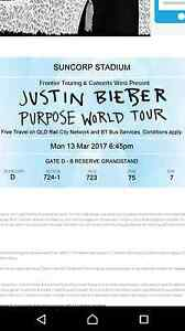 Justin Beiber purpose world tour Bellmere Caboolture Area Preview