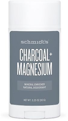 617952fc7 Schmidt's Charcoal + Magnesium, Mineral Rich Natural Deodorant 3.25 oz (6  pack)