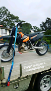 KTM 380 EXC Cardiff Lake Macquarie Area Preview