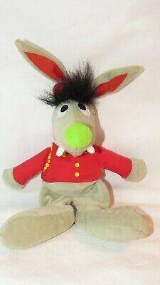 RARE! TYCO Jim Henson Benny The Rabbit Soft Toy Plush 1997 HTF!