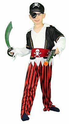 Kostüm Pirat Piratenkostüm Seeräuber für Kinder Piraten Kinderkostüm - Kinder Piraten