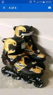 Limited Edition Seba KSJ Slalom Inline Skate Rollerblades US10