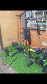 Sit down Gym set rope machine